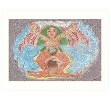 Goddess - Gaia Art Print