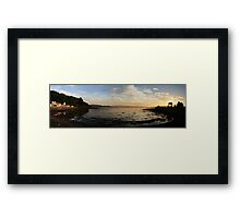 Bay Of Tranquility - Location, Location, Location Framed Print
