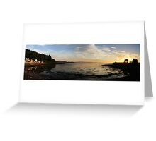 Bay Of Tranquility - Location, Location, Location Greeting Card
