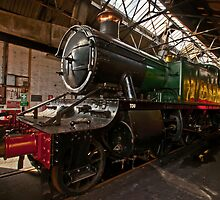Steam Locomotive by Simon Lawrence