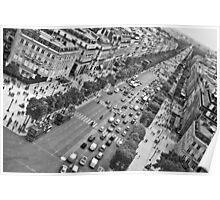 Avenue des Champs-Élysées Poster