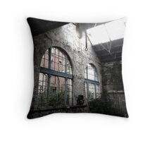 Daylight out there Throw Pillow
