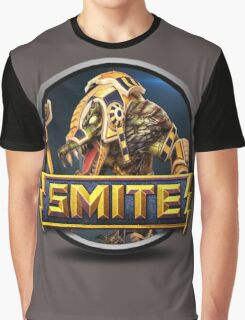 Smite Sobek Logo Graphic T-Shirt