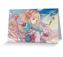 Force of Will - Alice, the Valkyrie of Fairy Tales Greeting Card