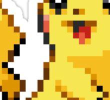 Pixel Pikachu Sticker