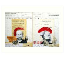 ESTUDIO PARA DOBLE RETRATO (STUDY FOR DOUBLE PORTRAIT) Art Print