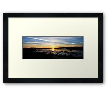 Bay Of Tranquility - Blink, and its gone. Framed Print