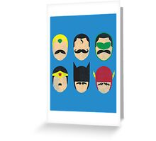 Mustache League of America Greeting Card