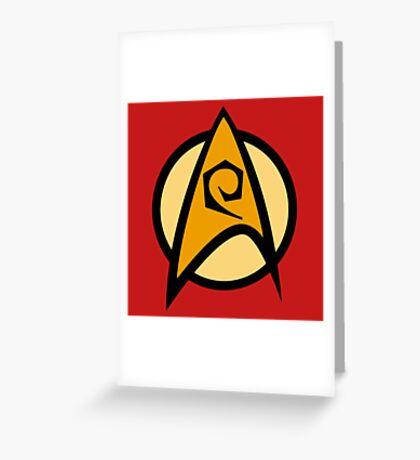 Star Trek TOS, Engineering Greeting Card