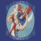 Sailor Moon - Ornate Frame by Penelope Barbalios