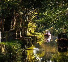 Chesterfield Canal at Kiveton by John Dunbar