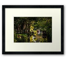 Chesterfield Canal at Kiveton Framed Print