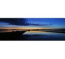 Bay Of Tranquility - The Blues Photographic Print