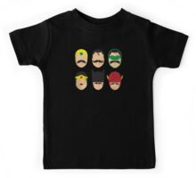 Mustache League of America Kids Tee