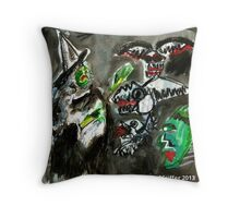 Pendle Hill Witch #6 Throw Pillow