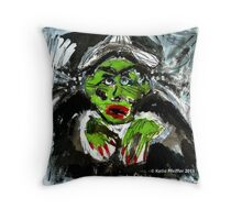 Pendle Hill Witch #5 Throw Pillow