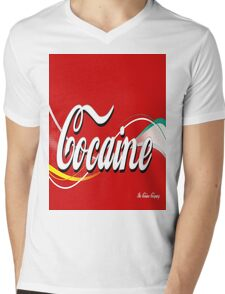 Coca cola  Mens V-Neck T-Shirt