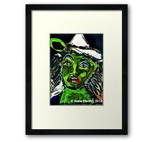 Pendle Hill Witch #4 Framed Print