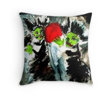 Pendle Hill Witch  Witches #3 Throw Pillow