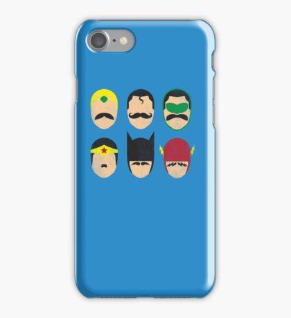 Mustache League of America iPhone Case/Skin
