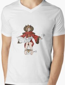 Queen Amidala at home! Mens V-Neck T-Shirt