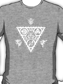 Waker of Winds Tri-Force White T-Shirt