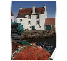 Harbour, Pittenweem, Fife Poster