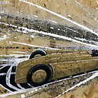 1929 Golden Arrow Painting by Richard Yeomans