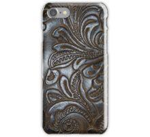 Vintage Embossed Leather iPhone Case/Skin