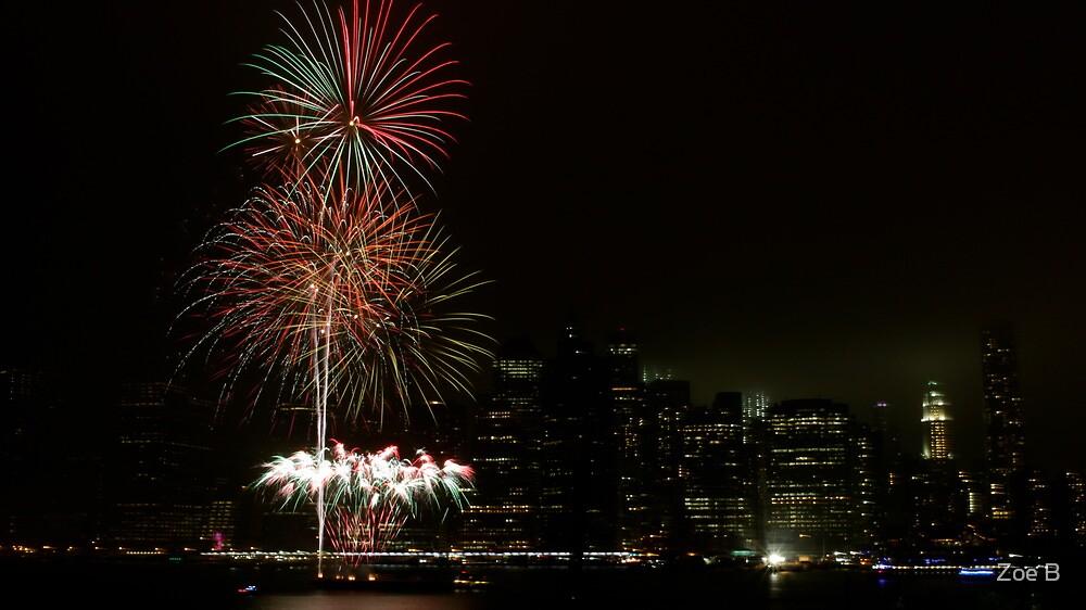 Surprise fireworks! by Zoe B