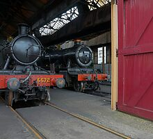 Steam Locomotives II by Simon Lawrence