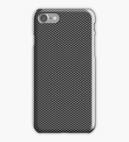 Silver Triangular Screen Pattern iPhone Case/Skin