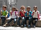 Little ice cream eaters by awefaul