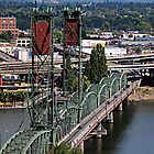 Hawthorne Bridge by Jeff Clark