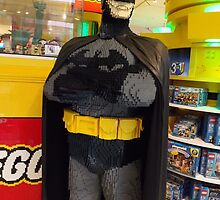 Batman Lego, FAO Schwarz Toy Store, New York City by lenspiro