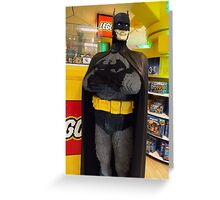 Batman Lego, FAO Schwarz Toy Store, New York City Greeting Card