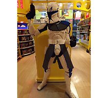 Lego Star Wars, FAO Schwarz Toy Store, New York City  Photographic Print