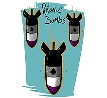 Platonic Bombs Photographic Print