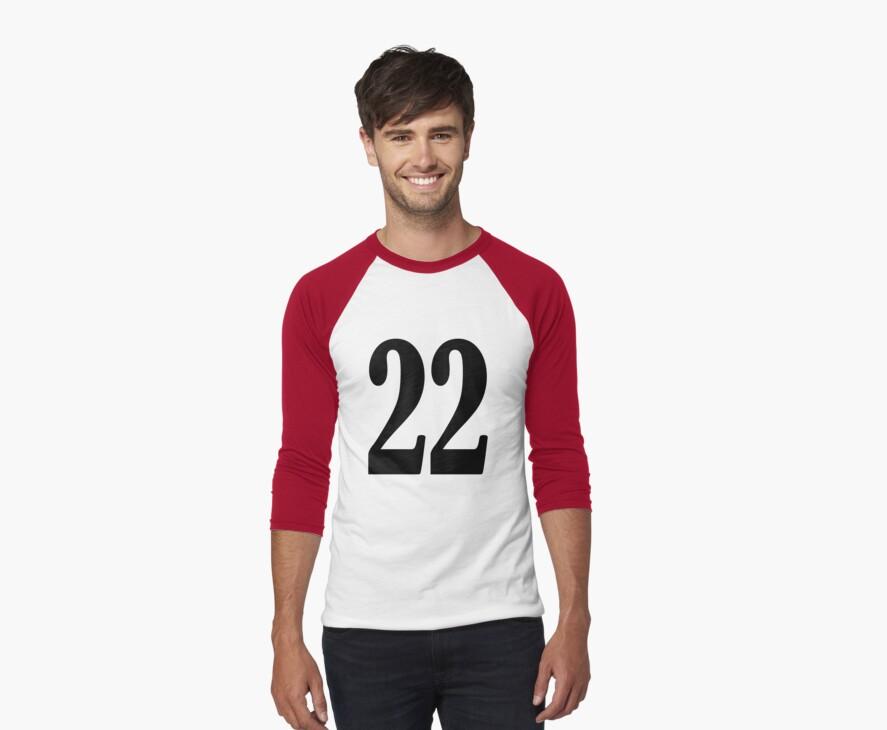 Baseball t-shirt  by Domsbubble