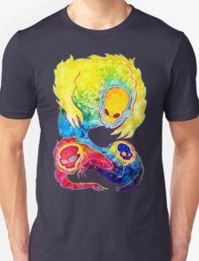 Infrared Psychedelic Poltergeist Unisex T-Shirt