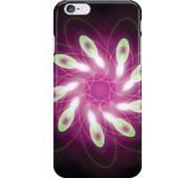 Green Escaping Purple iPhone Case/Skin