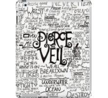 pierce the veil ipad case iPad Case/Skin
