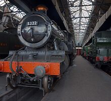 Steam Locomotives IV by Simon Lawrence