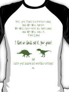 curse your sudden but inevitable betrayal, green, firefly T-Shirt