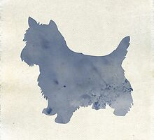 West Highland Terrier  by threeblackdots