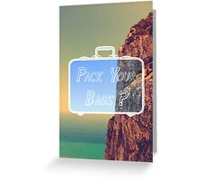 Pack Your Bags: Gibraltar Greeting Card