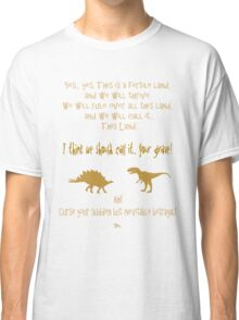 curse your sudden but inevitable betrayal, firefly, mustard Classic T-Shirt