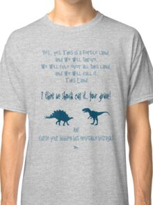 curse your sudden but inevitable betrayal, firefly, blue Classic T-Shirt