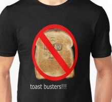 Toast Busters!! Unisex T-Shirt