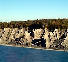 Chimney Bluffs by wolftinz